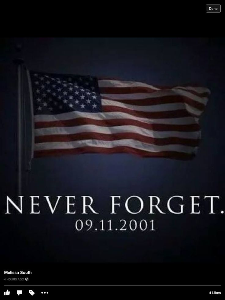 We Will Always Remember!