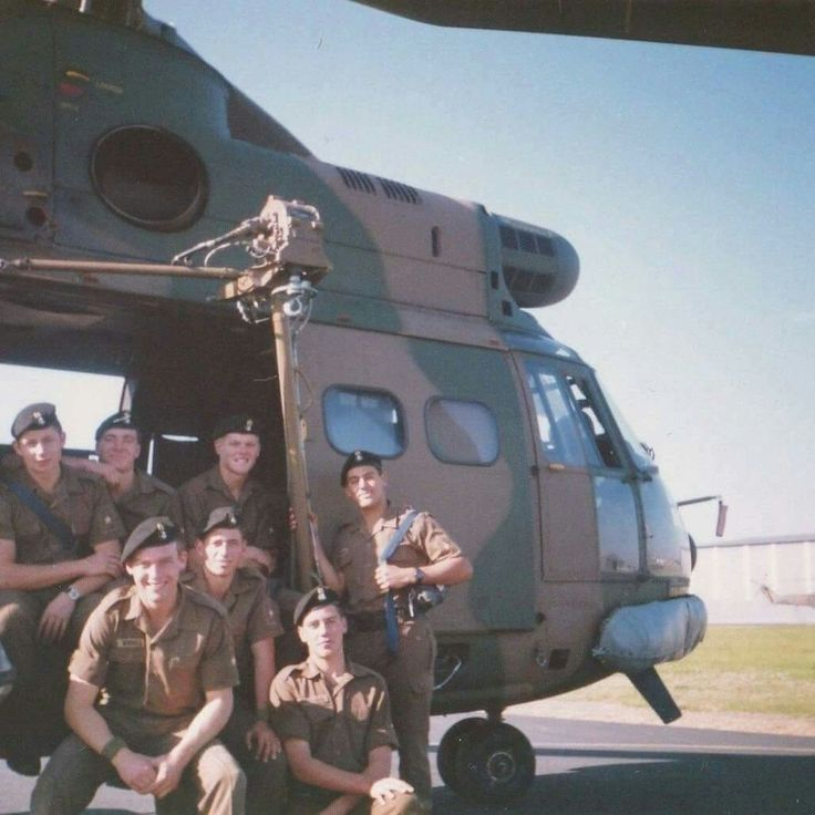 Marines Ysterplaat 1988 on the way to Ops Strandloper