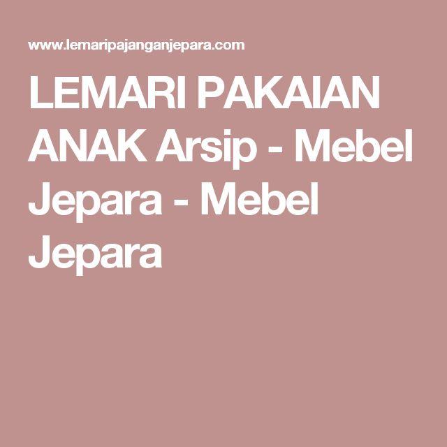 LEMARI PAKAIAN ANAK Arsip - Mebel Jepara - Mebel Jepara