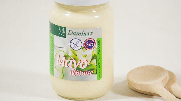 Zoutarme mayo, goed alternatief voor gewone mayo (waar veel zout in zit). Deze natriumarme mayo is lekker als basis voor sausjes of bij vers gebakken frietjes!