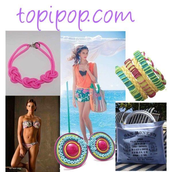 """""""Outfit playero"""" todo lo puedes comprar en tu tienda online Topipop.com"""