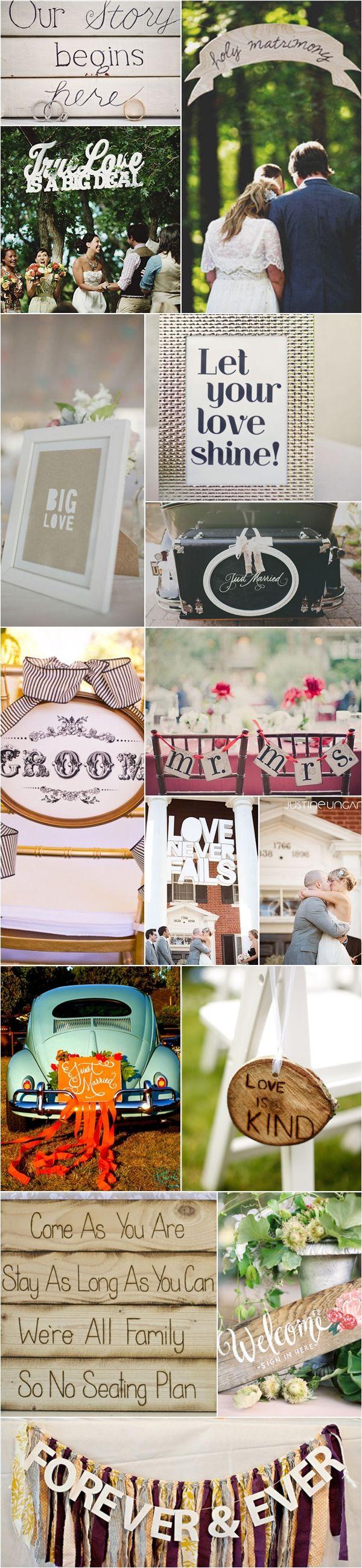 Praise Wedding » Wedding Inspiration and Planning » 57 Fun Wedding Signs