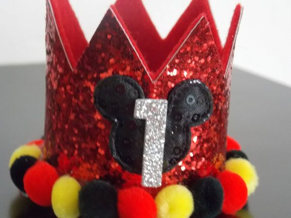 Hey, I found this really awesome Etsy listing at https://www.etsy.com/listing/208620222/mickey-mouse-birthday-crown-large