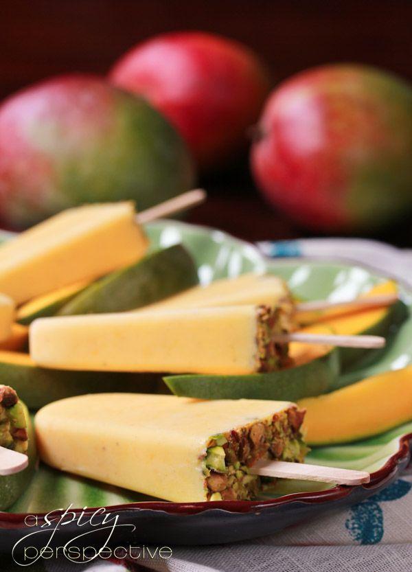 Mango Lassi Recipe for Popsicles