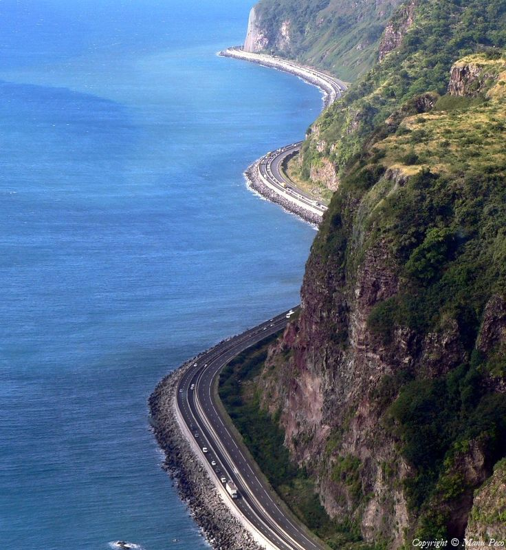 Route du littoral - Reunion Island