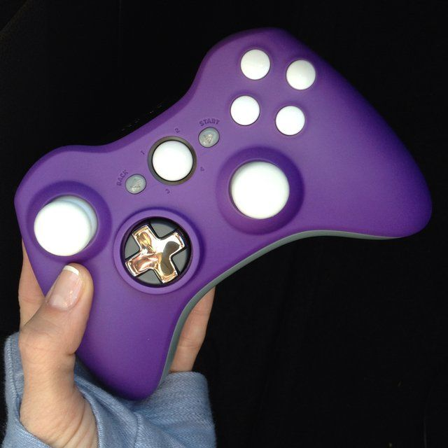Look at this purple beauty!!! Scuf Gaming Custom Xbox Controller. I need a pink one!