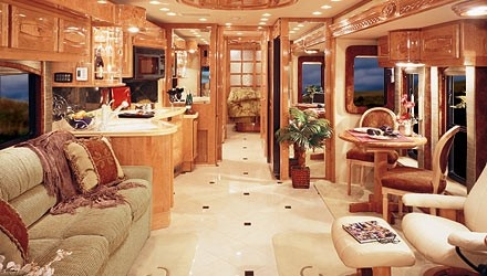 Believe it or not this is an RV! I'm going camping!
