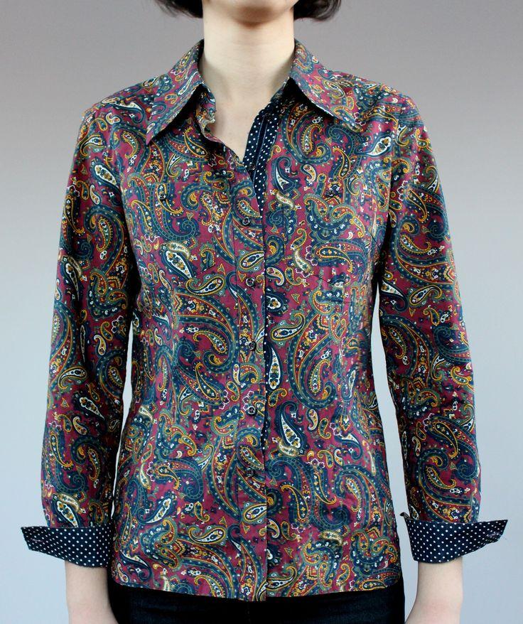 Рубашка сшита из хлопкового сатина Etro