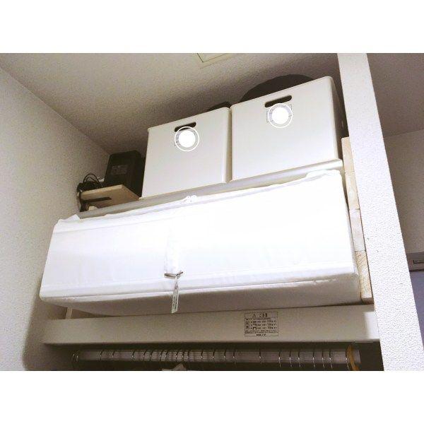 SKUBB イケア IKEA 布団ケース 収納ケース クローゼット 大きさ 白 便利 収納 整頓 整理