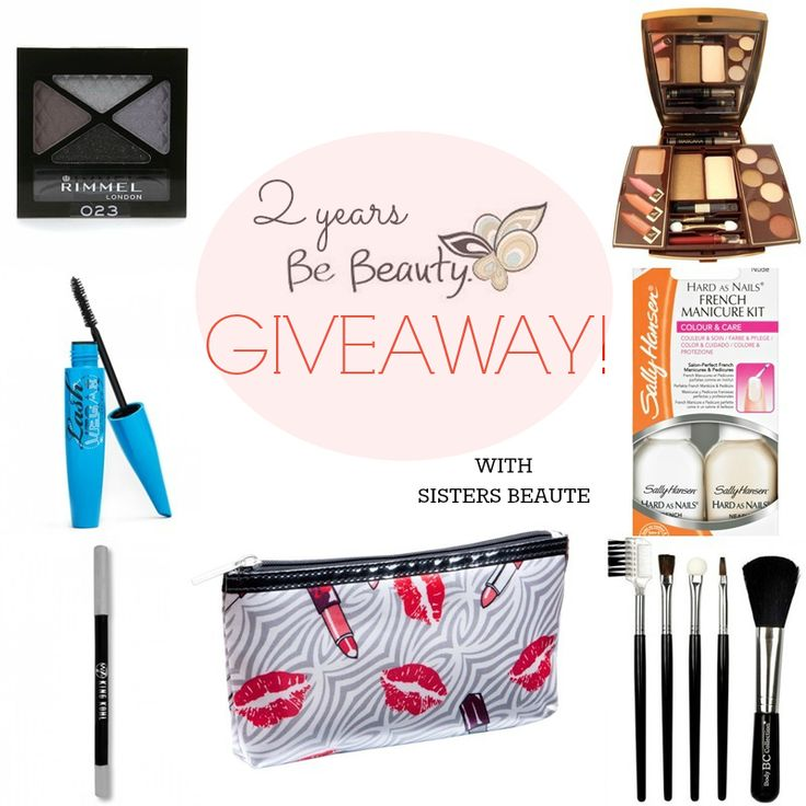 Sisters Beauté: 2 years BeBeauty Giveaway!