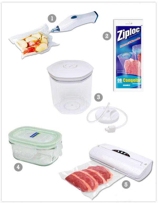 Embalagens para alimentos congelados - Constance Zahn   Casa & Decor