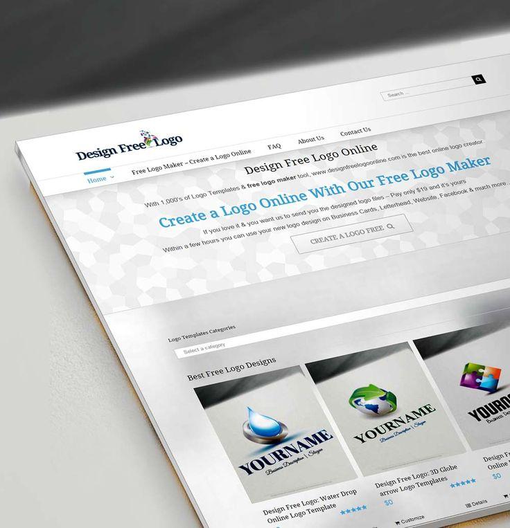 Avec des milliers de Modèles de Logo et l'outil free logo maker, www.designfreelogoonline.com est le meilleur créateur de logo en ligne.  Créer un Logo en Ligne Avec Notre Free Logo Maker Si vous l'aimez et que vous voulez que nous vous