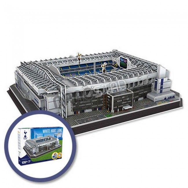 Maqueta para armar del Estadio 'White Hart Lane' del Tottenham #maqueta #puzzle  #toys #juguetes #estadio #stadium
