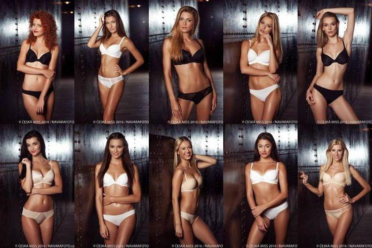 Ceska Miss 2016 Finalists Swimsuit Photoshoot