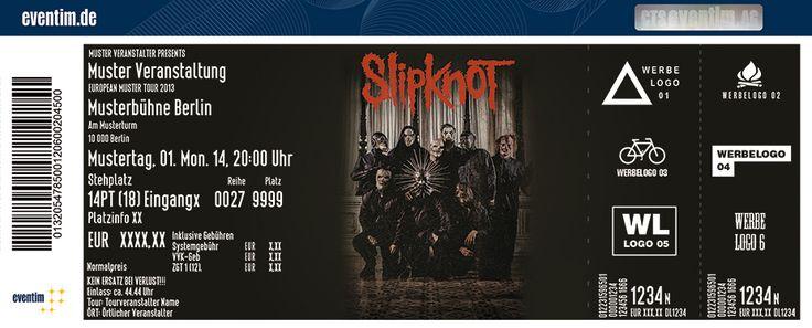 Tickets für Slipknot in MÜNCHEN am 03.02.16 - OLYMPIAHALLE MÜNCHEN