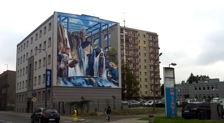 3D Mural _Gliwice/PL
