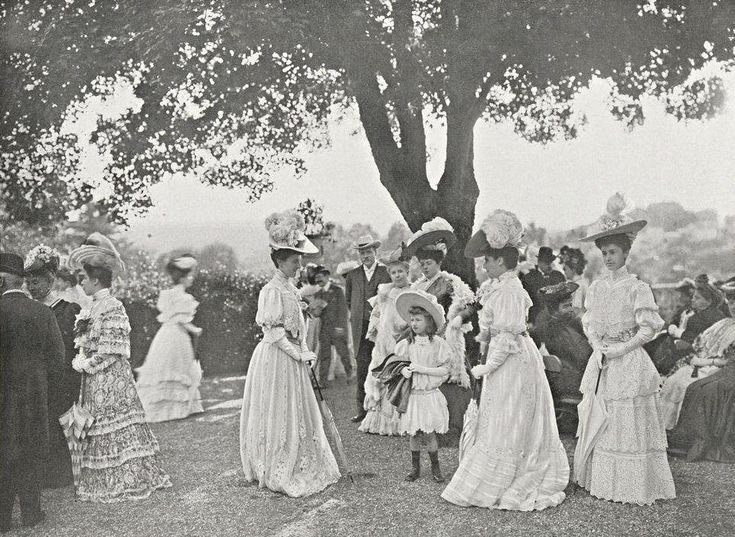 Garden Party chez Mme Rodocanachi, 1905