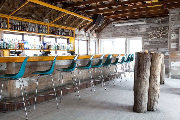 64 best surf themed restaurant images on pinterest home for Surfboard bar top ideas
