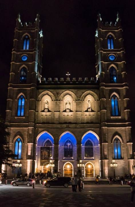 Attraction: A must-see show when visiting Montreal. Experience the amazing indoor light show transforming the inside of Montreal's famed Notre Dame Basilica. | Montreal | Attraction | Light Show |