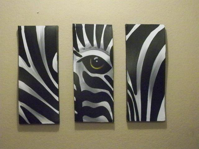 M s de 1000 ideas sobre dibujo de cebra en pinterest for Imagenes de cuadros abstractos geometricos