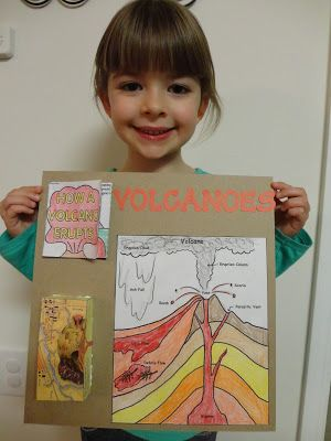 Volcano coloring sheets and activities. {Spark and All: Magma Madness and an Experiment Gone Bust (Literally)}