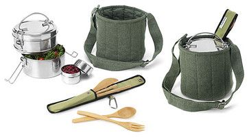 Tiffin Food-Carrier Set contemporary-food-containers-and-storage