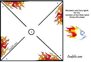 Pentecost pinwheel