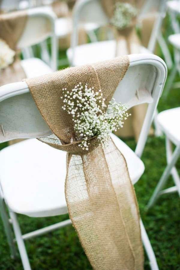 decoration de mariage lierre et champetre couleur vert feuillage
