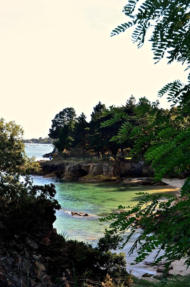 Entre Beg Meil et Cap Coz - Bretagne - France.  J'y passe mes vacances ...