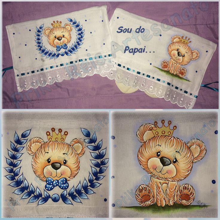 Pintura by Prika Reis Artesanato. . #prikareisartesanato #artesanato #handwork #pinturaemfralda #principe #ursinho #bebemenino #babyboy #incomfral #Acrilex #arte #babybr #forbaby #acrilexterapia #diapers #boy #likesforlikes #pinctoretigre #soudopapai #euquefiz #pinceistigre #kids #prince #instapaint #instababy #brarts #br_prikareisartesanato_at #ideiafixa #arteemtecido . . FAN PAGE: Prika Reis Artesanato INSTAGRAM: Prika Reis Artesanato