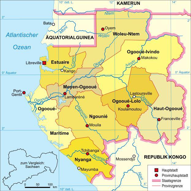 Marokko Gabun