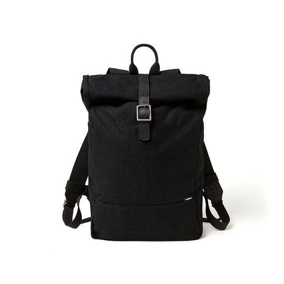Backpack Rucksack Roll Top Backpack Canvas Backpack