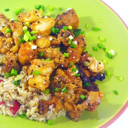 Inspired By eRecipeCards: Fast and Easy General Tso's Chicken