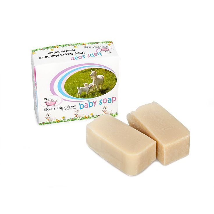 Goat's Milk Baby Soap. Soaps from Chardine only use natural oils in combination with fresh goat's milk, which results in a wonderfully gentle soap for your baby's sensitive skin. The ingredients are all-natural: no dyes or synthetic colours are used. Made for babies but also ideal for anyone with sensitive skin and skin irritations.