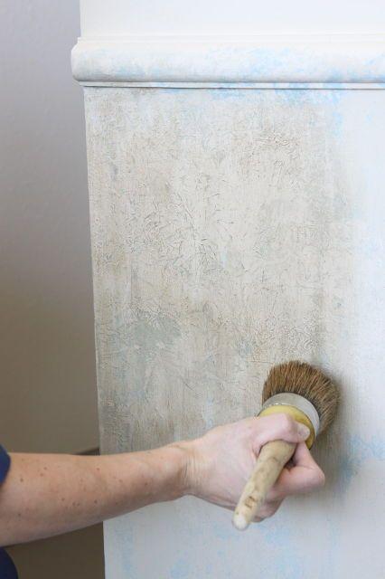 chalk paint annie sloan frottage, chalk paint, painted furniture