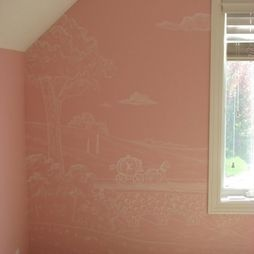 Bedroom Girls Nursery Wall Murals Design, Pictures, Remodel, Decor and Ideas - page 4