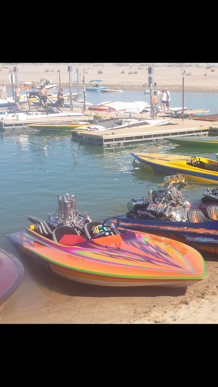 Pirates Cove, Needles. Billy B's 2106 Boat show.