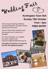 Huntingdon Town Hall Wedding Fair