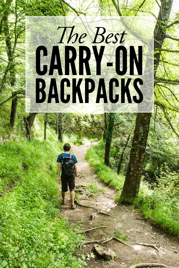 The best carry-on backpacks. Travelling carry-on only makes travel easier and cheaper. Read this post for detailed reviews of the best backpacks for carry-on travel.