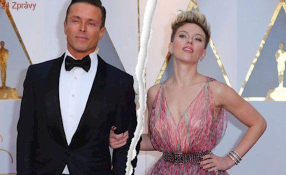 Hollywoodská star Scarlett Johansson: Rozvod a válka o děti!
