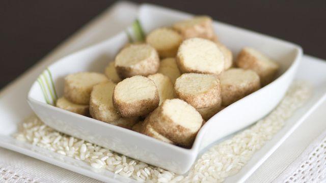 Diamantini (biscotti) con farina di riso
