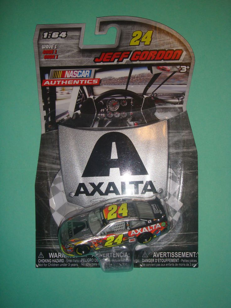 2016 NASCAR Authentics JEFF GORDON AXALTA #24 1:64 WAVE 1