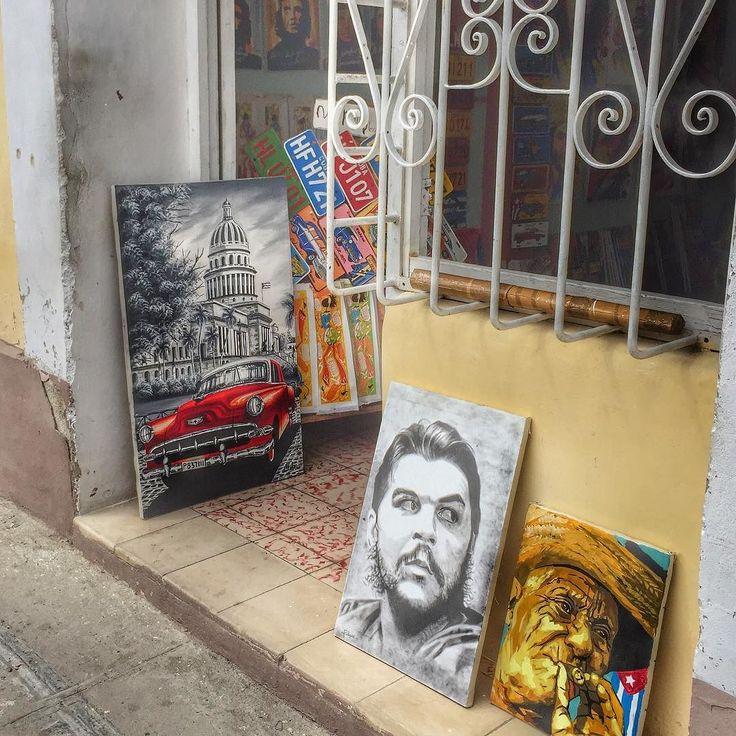 In Cuba it's all about the art! #cienfuegos #cuba