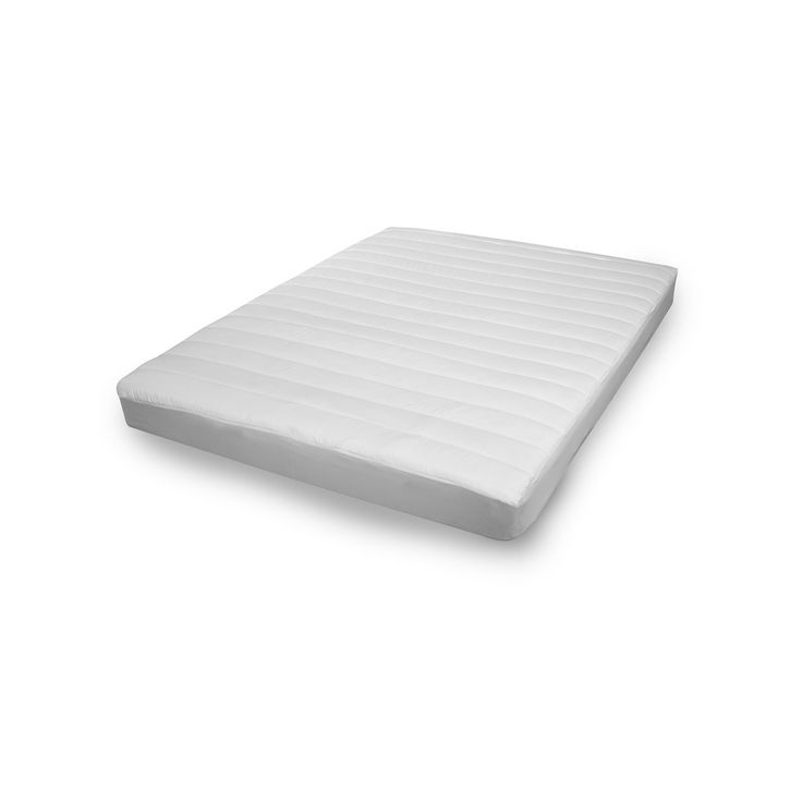 MicronOne Mattress Pad, White, Durable