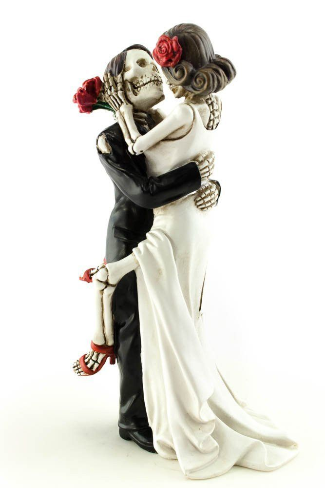 Day Of The Dead Dia De Los Muertos Sexy Skulls Wedding Gothic Cake Topper  Forever In