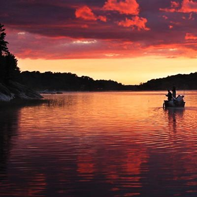 "I think we should put a petition in to rename Twelve Mile Bay as the official ""Sunset Strip"".  Congratulations to Lisa Dmytruk for submitting this awesome winning photo for our Pure Muskoka sunset theme contest."