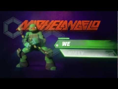 Michelangelo's Biography - TMNT 2012