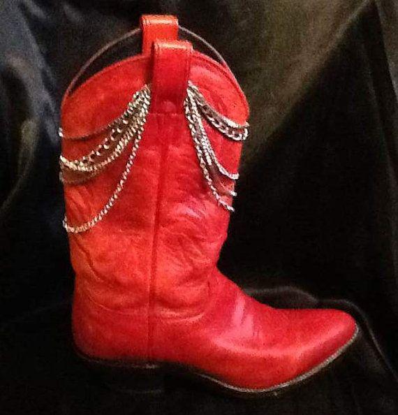 Boot Drape Bling Jewelry Shaft Bracelet 4 by DealDivaDesigns