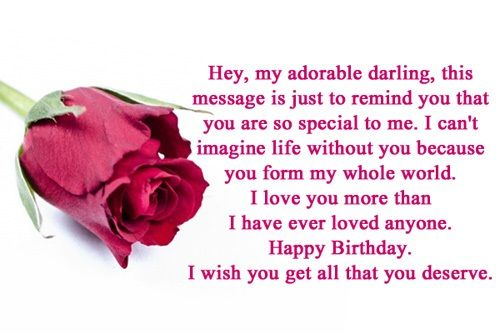 Happy Birthday Wishes for Boyfriend with images