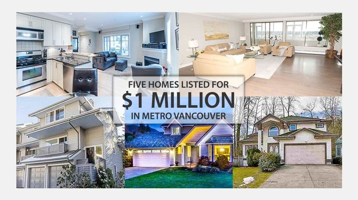$1m homes Metro Vancouver main image